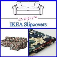 IKEA Ektorp Slipcover 3-seat sofa w/ chaise Lingbo Multicolor Floral 104.033.41