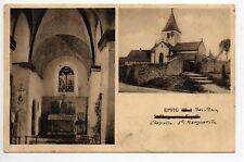 EPFIG Bas Rhin Alsace CPA 67 église et chapelle ste Marguerite