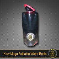 KRAV MAGA FOLDABLE COMPACT WATER BOTTLE BPA-Free - PERFECT HYDRATION