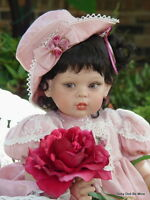 Retired 1998 Rosette by FayZah Spanos number 107 of 1000 Vinyl Doll 26 Inches