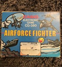 Vintage Elektronik Casio Handheld Tricotronic Airforce Fighter Game and Watch