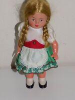 Vintage Celluloid Windup Doll WORKS