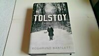 Tolstoy : A Russian Life by Rosamund Bartlett with dust jacket