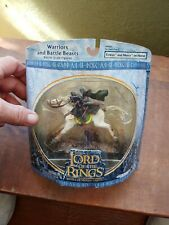 Lord of the Rings Eowyn and Merry on Horse Armies of Middle Earth Battle Figures