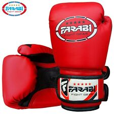 Kids Boxing Gloves 4 oz sparring training kick boxing