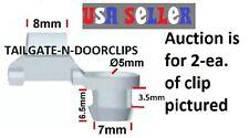CHEVROLET & GMC TRUCK DOORS & TAILGATE LATCH CLIPS 3/16 ROD 2-Each TG-1