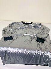 ASOS Metallic Mini Dress Silver Size US-16