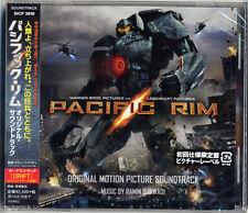 OST-PACIFIC RIM (MUSIC BY RAMIN DJAWADI)-JAPAN CD Bonus Track F30