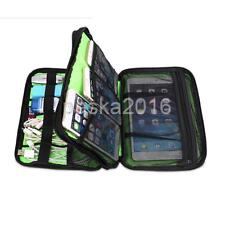Universal Travel Case for Electronics Accessories Storage Bag Black iPAD Tablet