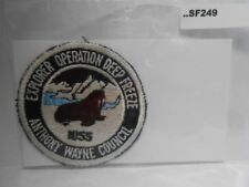ANTHONY WAYNE COUNCIL 1955 EXPLOREER OPERATION  SF249