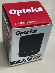 Opteka 2x teleconverter for High Definition Mirror 500 f/8.0 Lens (new)