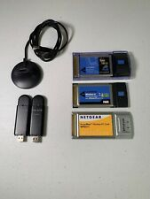 Wireless Network Cards PCMIA & USB   Assorted Lot   Linksys, Netgear & Belkin
