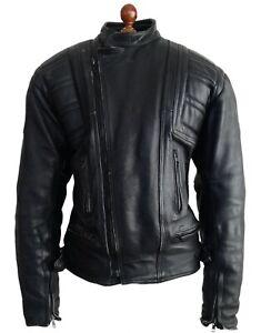 Mens Leather BELSTAFF Motorcycle Biker Bike Cafe Racer Brando Rocker Jacket Coat