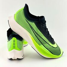 Nike Zoom Fly 3 Electric Green Men's Running Shoes Black White AT8240 300