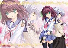 Angel Beats! Character Universal Rubber Mat Yuri & Angel