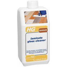 HG laminate Flooring Pavimento GLOSS Cleaner-Lavaggio e Lucidante 1 litro