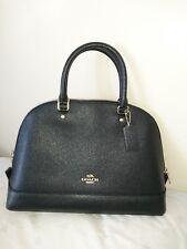 46bc2e36906c Coach Large Sierra Satchel Handbag Bag Purse NWT NEW BLACK