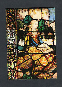"""Posted 2003 View of Window """"Mary of Bethany"""", Lichfield Cathedral"""