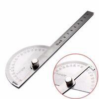Winkellineal 180° Winkelmesser Edelstahl Messwerkzeug Gradmesser Schmiege Lineal