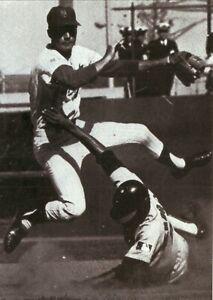 Bud Harrelsonl--New York Mets--5x7 Glossy B&W Photo