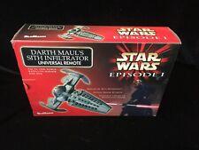 Star Wars UNIVERSAL REMOTE Darth Maul's Sith Infiltrator NIB