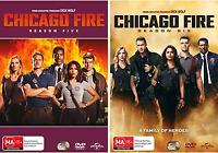 Chicago Fire - Season 5 & 6 : NEW Series DVD