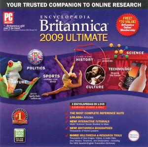 Encyclopedia Britannica 2009 DVD Ultimate Edition