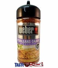 Weber BBQ N'Orleans Cajun Seasoning 142g Jar New Orleans Barbecue Bar-B-Q
