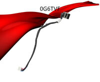 AC DC POWER JACK CABLE HARNESS PLUG FOR DELL Precision DC30100OS00 M2800 0G6TVF