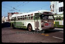 Orig. Bus / Trolleycoach Slide San Francisco Municipal Rwy (Sfmr) 2423