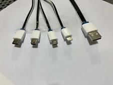 4in1 Carga Rápida Cable Cargador Usb Multifunción Universal Teléfono Móvil AP CE
