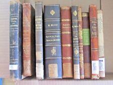 Rare Antique Deutsche German Christ Theology Religion Philosophy book lot of 10