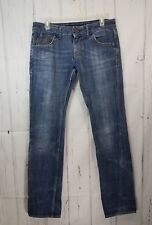 Women's Miss Sixty Marvel Straight Jeans Size 27