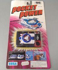 Vintage 1988 Tyco Sega Power Pocket Rare Carded Mosc Hovercraft