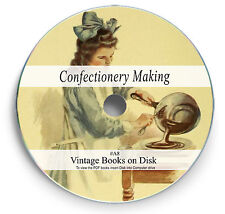 Huge Recipe Book Library on DVD - Confectionery Sweets Cakes Chocolates Candy A8