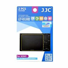 JJC LCP-RX100 III Screen Protector Film for Sony DSC-RX100M4/RX100III/II/RX1R