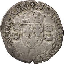 Monnaies, Henri II, Douzain aux croissants, 1551 (9), Rennes, Sombart #37479