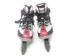 DBX Inline Skates Roller Blades Abec 7 Bearings Mother Ship Wheels Size 8 & Case