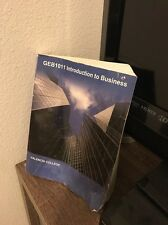 GEB1011 Introduction To Business Valencia College