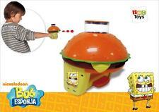 Spongebob Squarepants cangredisk lanzador de disco/Shooter-Incluye 10 Discos