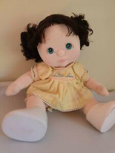 My Child Doll: BRUNETTE curly Piggies