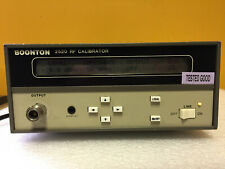 Boonton 2520 30 Mhz, -70 to +20 dBm Output, Digital Rf Calibrator. Tested!