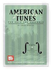 American Violín Canciones Para Solo & Ensemble-Chelo Bass
