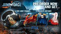 Jump Force PreOrder Bonus DLC (PS4)