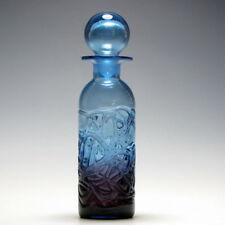 Blue Antique Original Art Glass