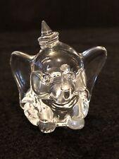 Walt Disney's Disneyland Arribas Bros Glass Dumbo Elephant Figurine