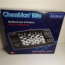 Lexibook ELO 1800 ChessMan Elite Interactive Electronic Chess Computer
