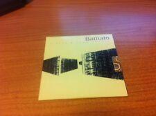 CDs  PROMO FRANCO BATTIATO NIENTE E' COME SEMBRA MERCURY 5002985 ITALY PS 2007