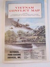 1965 VIETNAM CONFLICT MAP