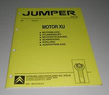 Werkstatthandbuch Citroen Jumper Motor XU Stand 03/1994